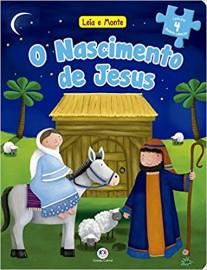 Historias Bíblicas Quebra Cabeça - O Nascimento de Jesus
