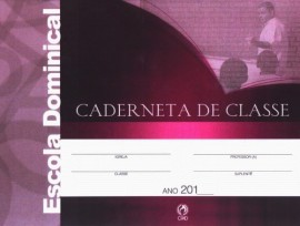 Caderneta de Classe de Escola Biblica Dominical