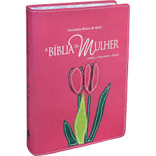 Biblia da Mulher RA - Grande - Capa Luxo Legno Goiaba