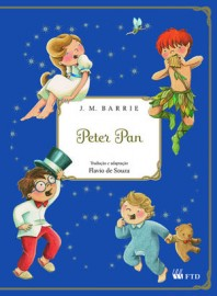 Peter Pan - J.M. Barrie - Editora FTD - 1ª Edição - Adaptação Flavio de Souza