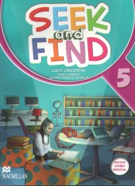 Seek And Find 5 - Student's Book With Multi Rom & Digital Book