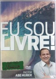 DVD Pr Abe Huber - Eu Sou Livre